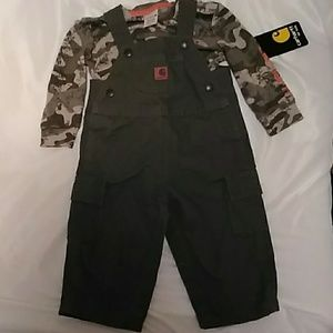 Other - Carhartt boys 9 month 2 piece